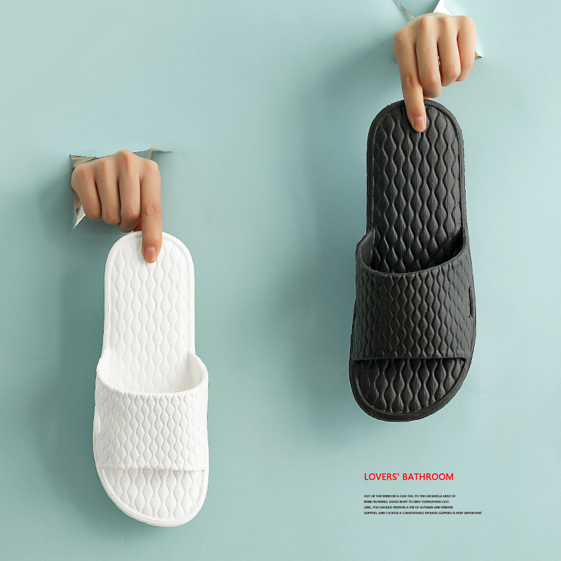 Slippers for men, indoor couple in summer, household, antiskid and deodorant bathroom, bath, soft bottom, mute sandals for women