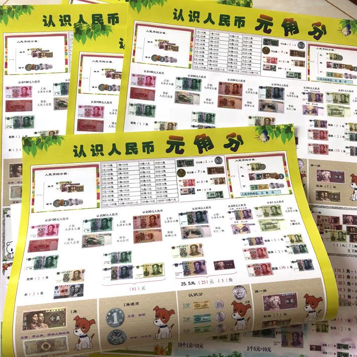 二年级孩子海洋汉语汉子汉字记忆简单教育男女前人物宝宝识字挂图