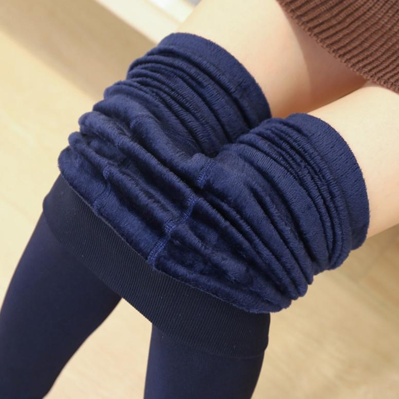 15元女装精品加厚保暖秋裤新款一体裤学生加绒弹力女士显瘦打底裤