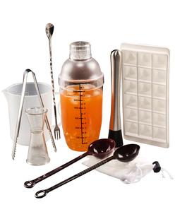 奶茶工具套裝製作衝調雪克壺帶刻度調酒器專用設備手搖杯商用全套