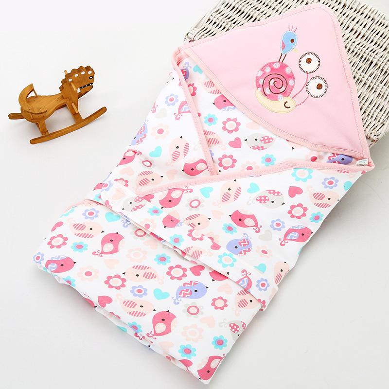 新生儿抱被春秋冬季保暖外出包被初生婴儿夹棉加厚款抱毯宝宝用品