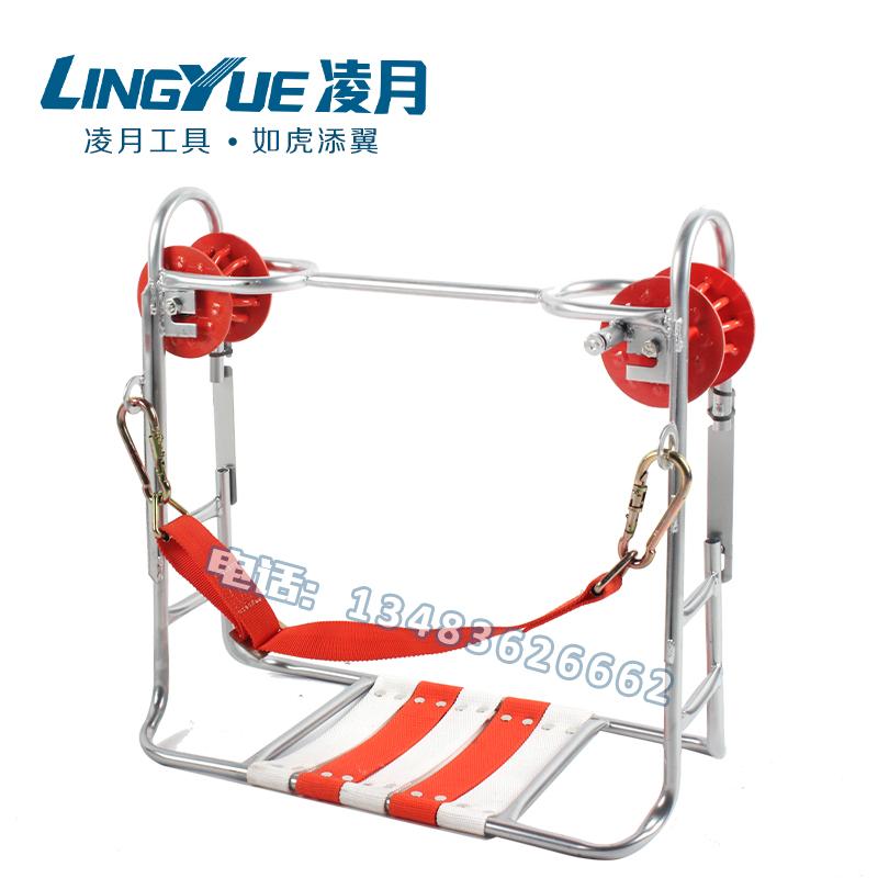 Новый двойной круглый высокий пустой вешать стул железо круглый сталь твист линия скольжение автомобиль нейлон колесо скольжение стул шина скольжение стул скейтборд вешать стул
