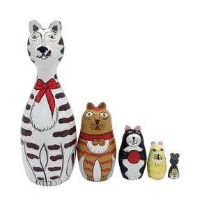 抖音网红俄罗斯套娃娃不倒翁发泄少女心解压减压儿童创意整蛊玩具