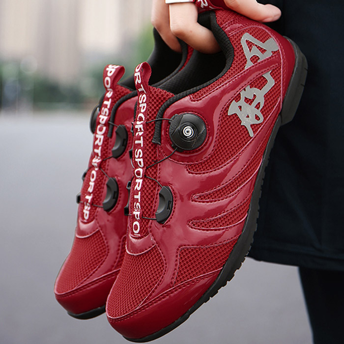 Professional cycling shoes mens spring and summer non lock non lock bicycle hard sole power mountain bike road bike shoes womens