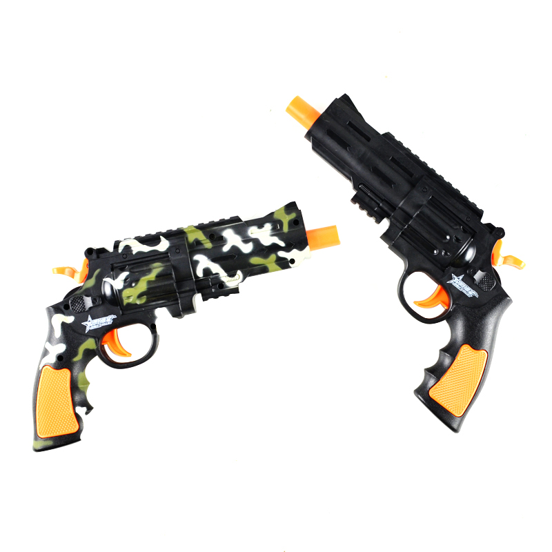 兒童左輪玩具手槍男孩水彈槍可發射軟彈水晶彈 聰明的順溜