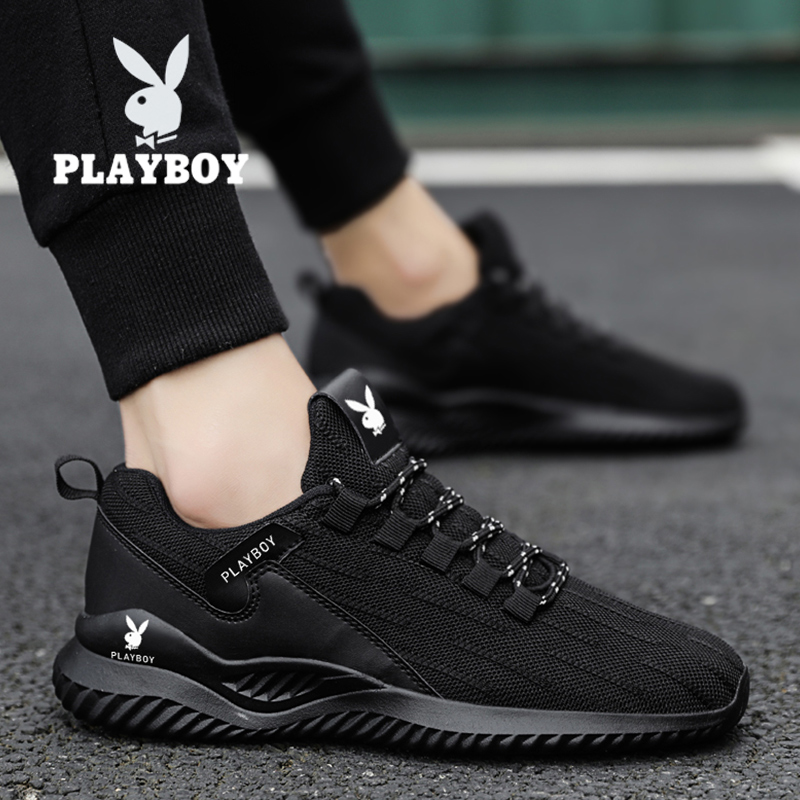 Playboy men's shoes 2021 new summer trend wild sports and leisure men's running deodorant spring tide shoes