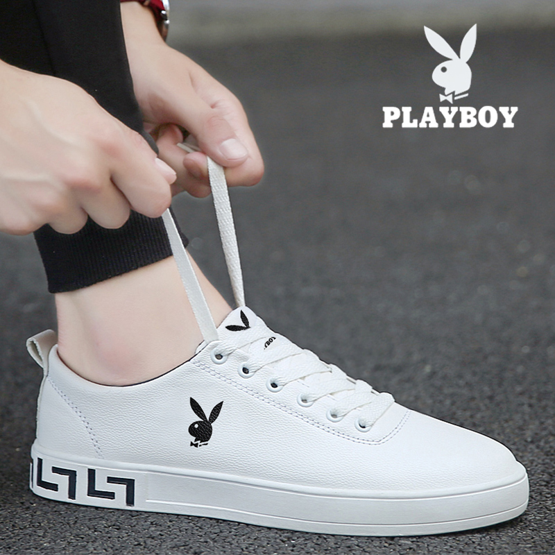 Playboy men's shoes spring 2021 new small white tide shoes summer trend wild casual breathable Korean sneakers