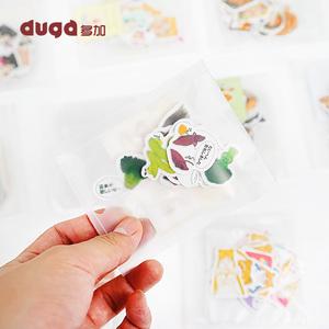 韩版装饰贴纸 手账本素材周边可爱diy套装相册小清新手帐标签贴纸