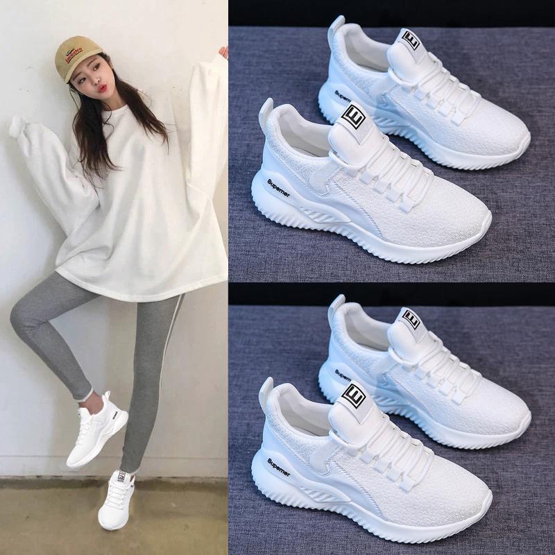 老爹鞋女ins潮2019新款百搭学生运动鞋2020春季休闲跑步小白鞋子