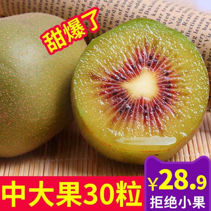 四川蒲江红心猕猴桃5斤大果新鲜包邮当季超甜水果奇异果非绿心