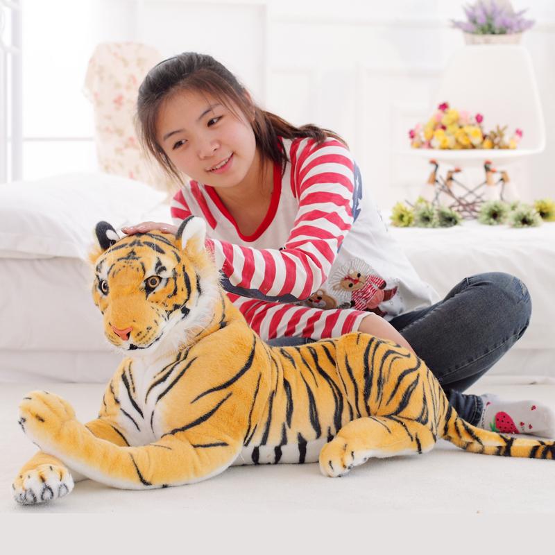 仿真虎毛绒玩具老虎公仔大号可爱创意玩偶布娃娃儿童生日礼物女生