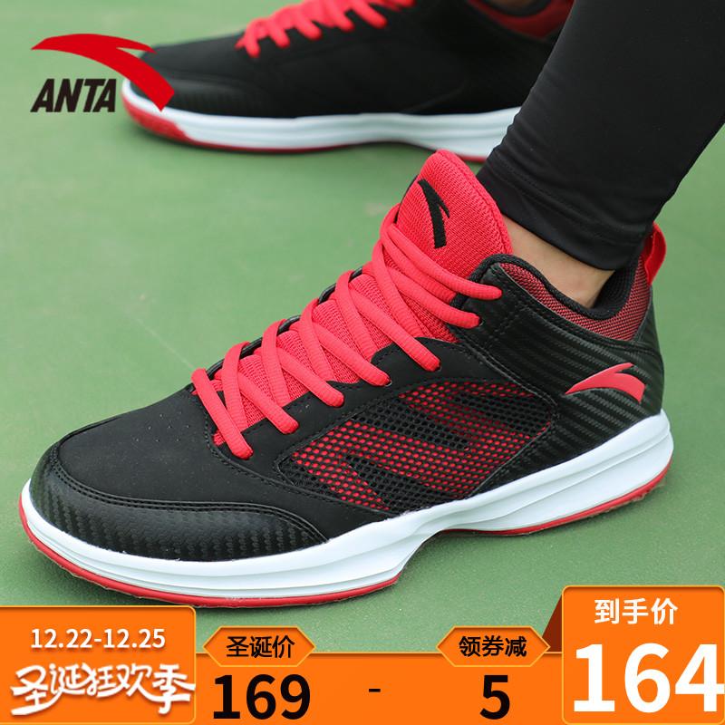 安踏篮球鞋男鞋冬季耐磨球鞋低帮鞋子霸道官网正品运动鞋男篮球鞋