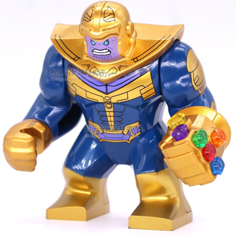 兼容樂高超級英雄復仇者聯盟三人仔滅霸無限手套拼裝積木兒童玩具