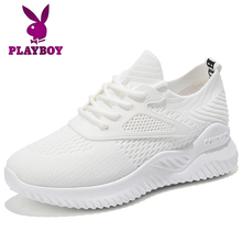 Playboy's Small White Shoes Women's Summer Shoes Women's 2019 Tidal Shoes Breathable Mesh Sports Shoes Women's Summer Mesh Shoes