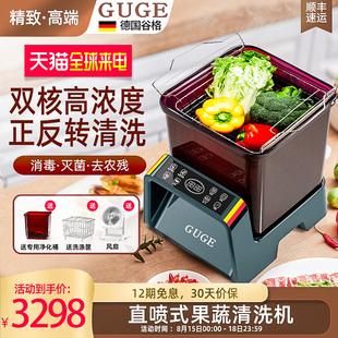 德国谷格食材净化机洗菜家用解毒机等离子杀菌消毒旋转果蔬清洗机品牌