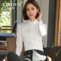 女长袖韩版2019春装新款白衬衣