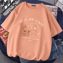 夏季纯棉短袖t恤女宽松2021年新款减龄显瘦韩版大码半袖上衣ins潮