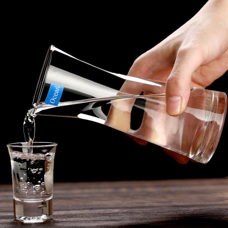 泰国进口玻璃白酒杯红酒小号分酒器
