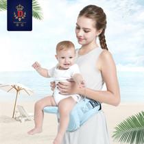 蒂爱婴儿背带轻便通用多功能四季宝宝腰凳小孩抱带前抱式抱娃坐凳
