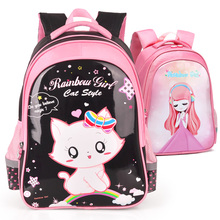 Schoolbag primary school girl Princess grade 1-3-5 girl 6-12 years old children's backpack waterproof load reduction