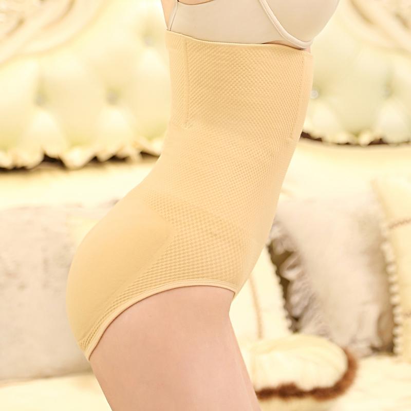 大码产后美体收腹内裤女高腰提臀收腰收胃无痕塑身裤头夏季瘦身衣