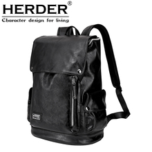 HERDER/HERDENER Shoulder Bag Men's Travel Backpack Sports Student's School Bag Korean Computer Bag Leisure Bag