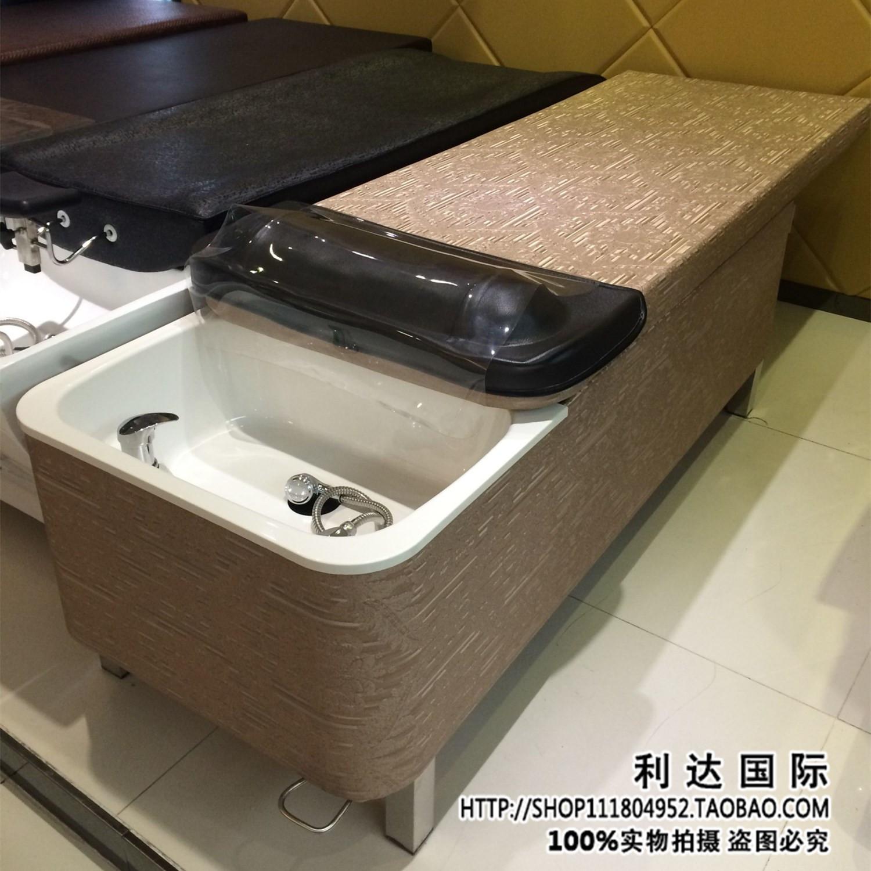 Новый тайский стиль скользящий шампунь кровать косметология парикмахерское дело массаж один все лечь кровать стрижка магазин шампунь кровать салон специальный