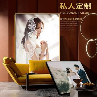个人写真结婚照片订制儿童摄影照片设计婚纱照个性 饰画 化定制装