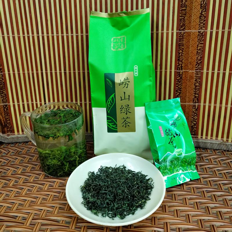正宗崂山绿茶 2018年新茶100克买5送1  特级散装 青岛特产包邮