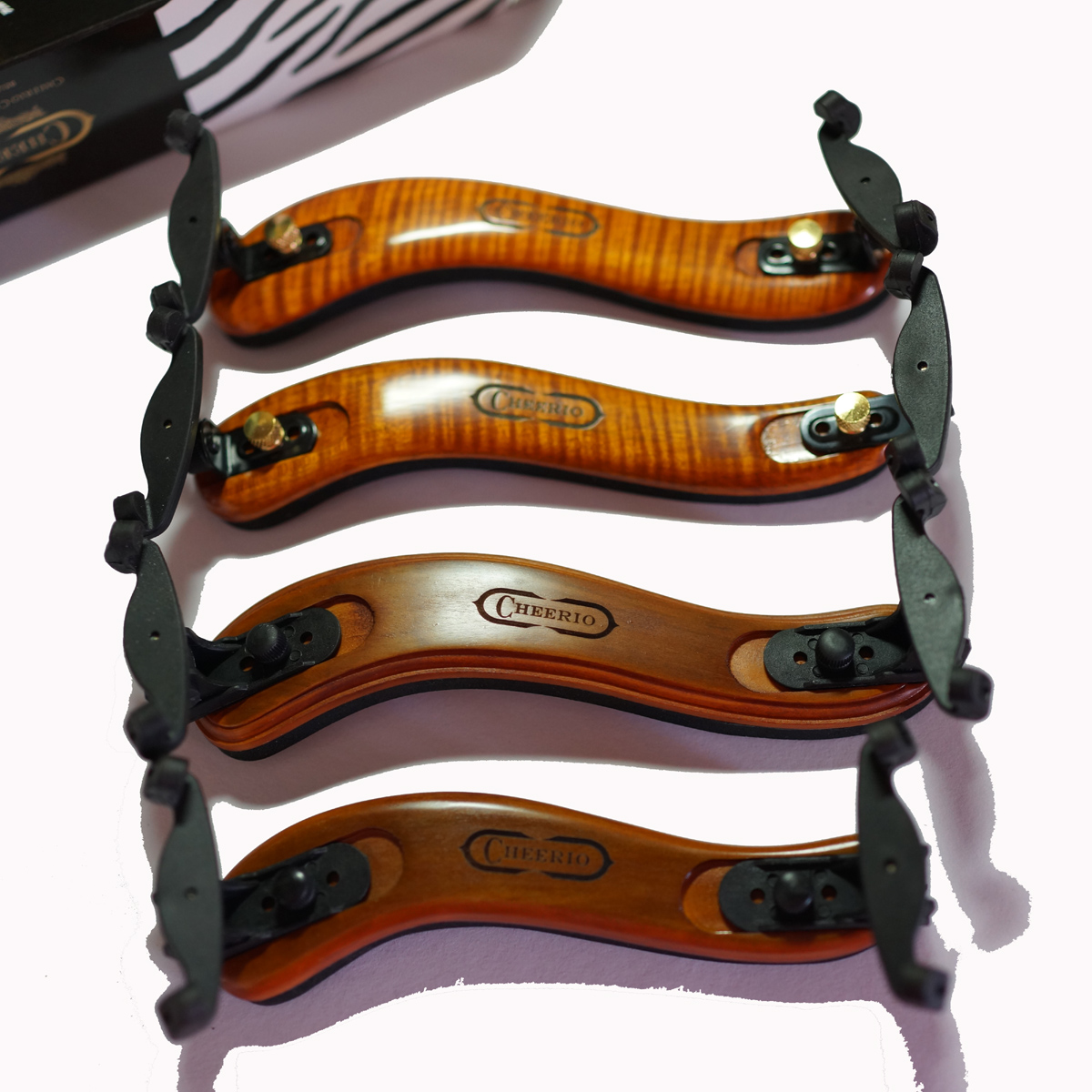 Импорт клен скрипка плечо уход 1/2 1/4 3/4/4 дерево плечо подушка скрипка подушка плечо регулируемые гусли уход