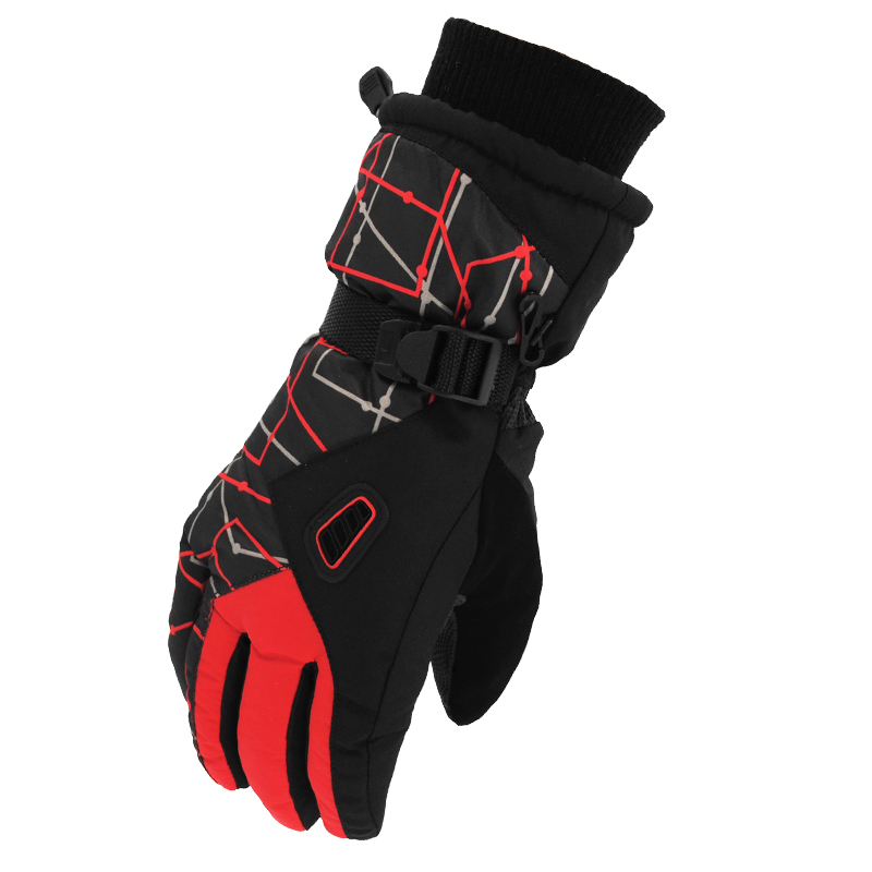Ski gloves men WINTER CYCLING lovers cycling motorcycles cold proof plush cotton warm thickening graffiti