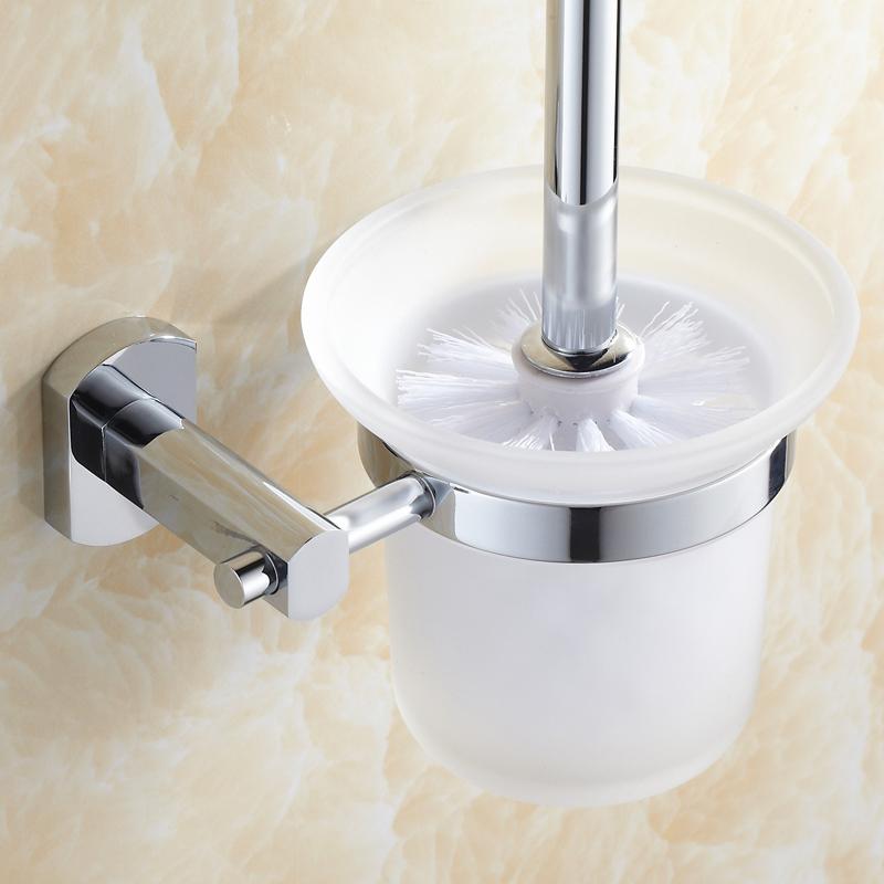 全銅馬桶刷架套裝 衛生間廁刷套裝浴室衛浴 掛件套裝 簡約風格