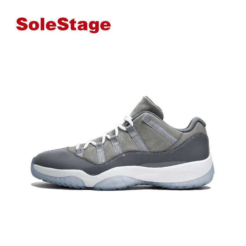 Air Jordan 11 Retro Low aj11 酷灰男款低帮 528895-003