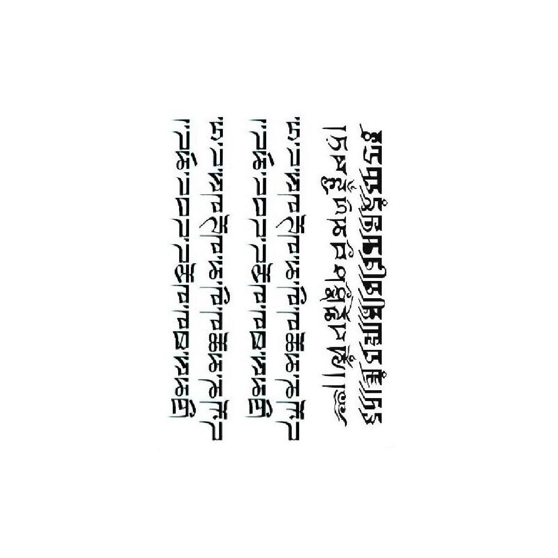 浮世绘纹身贴梵文防汗防水男女半臂小臂花臂刺青大腿小腿ins网红
