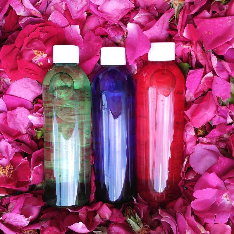 仔细看描述 云南墨红玫瑰纯露 滇红玫瑰纯露花水 原味无勾兑