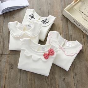 秋衣纯色女童长袖t恤0-1岁打底衫