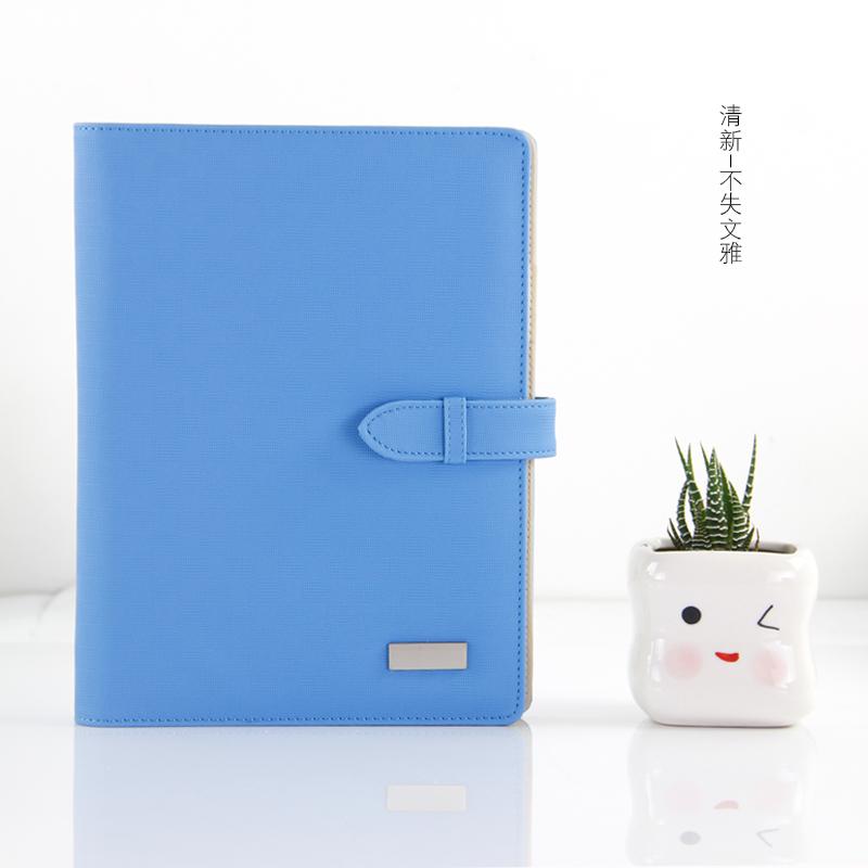 活頁記事本筆記本文具A5包郵日記本 定製韓國商務手帳本活頁夾
