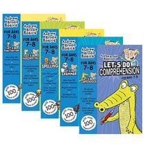 英国小学英语小学教材5本套装 阅读语法拼写英文原版小学教材 Let's Do Grammar Comprehension Spelling 7-8岁小学三年级英文版
