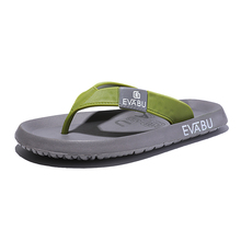 Fashion of sandals, sandals, sandals, slippers, fashion, indoor and outdoor leisure, soft skid-proof Korean version of personality men's flip-flops in summer