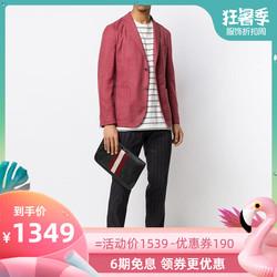BALLY巴利 正品2019春夏男士时尚经典条纹休闲手拿包CAYARD