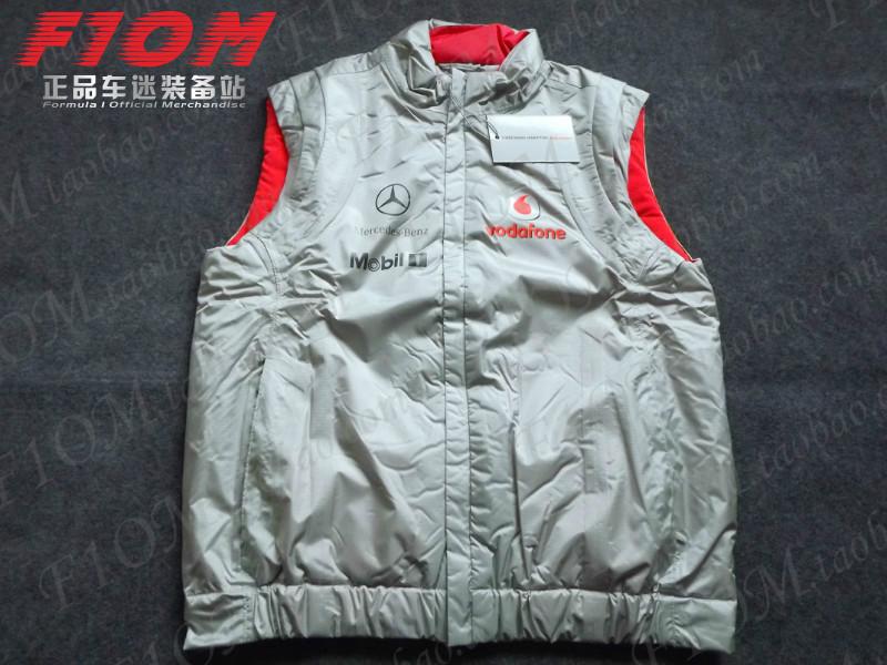 F1 шаг торжествующий отношения автоколонна McLaren шаг торжествующий круглый жилет куртка теплый пальто гоночный одежда быстро бегать