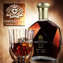 XO干邑白兰地大容量XO金尊法帝斯原装XO法国进口洋酒