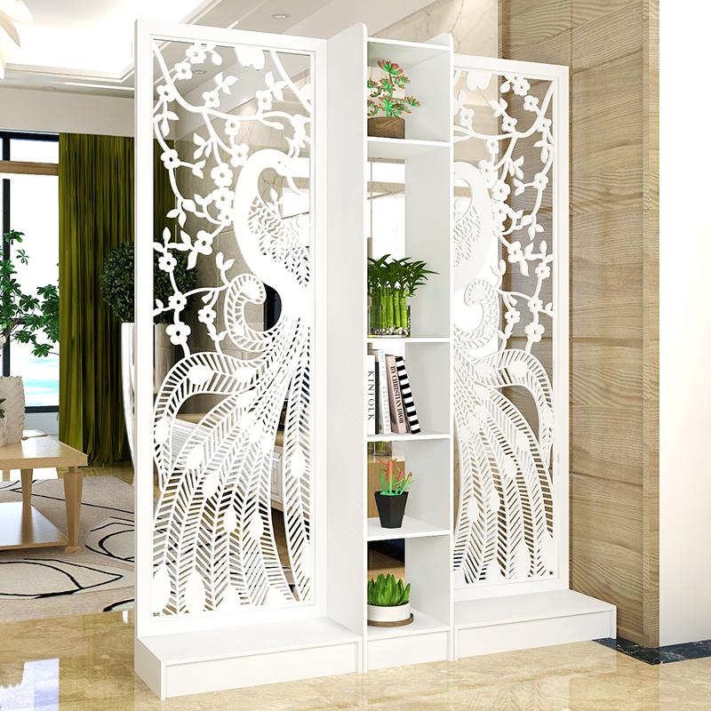 屏风隔断客厅现代时尚移动玄关柜