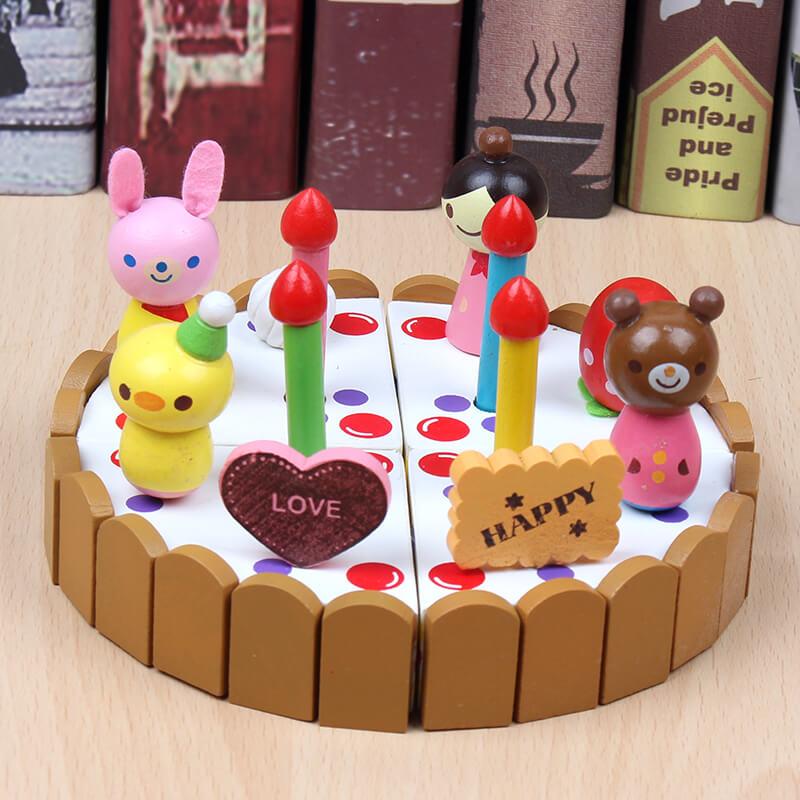 过家家仿真宝宝切蛋糕水果厨房玩具有赠品