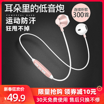 Original authentic wireless Bluetooth headset, dual ear sports, halter type, in ear, headset, running, apple general super long standby life, Huawei girl's lovely vivo, millet, oppo, Sony