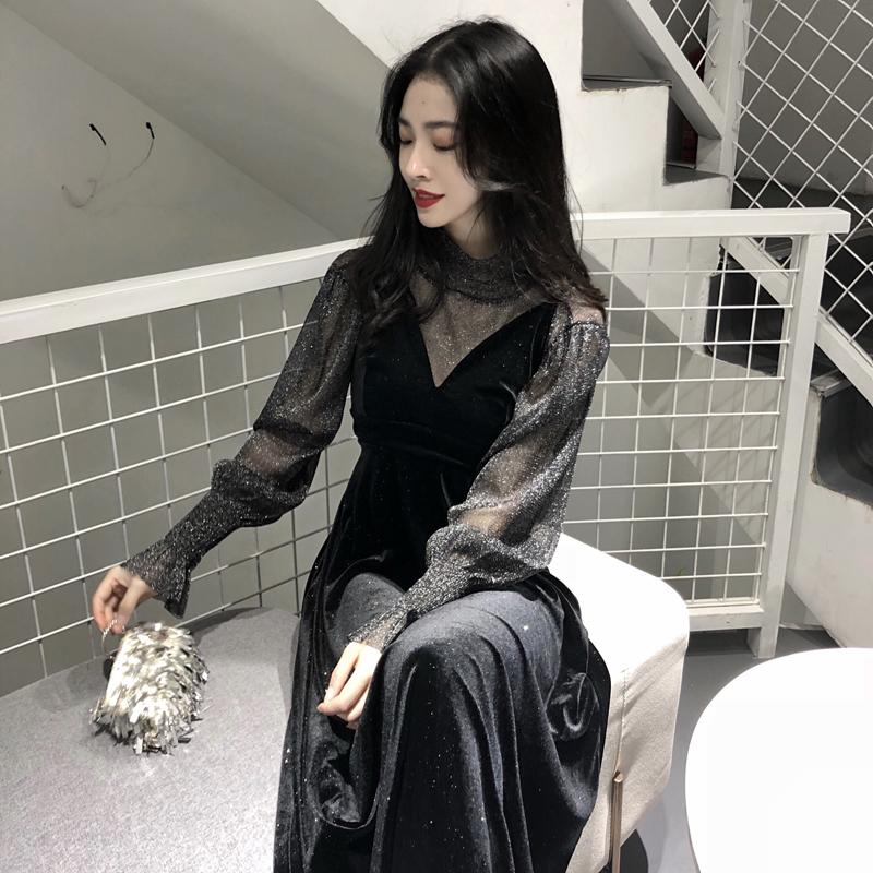 女士连衣裙2018新款秋季