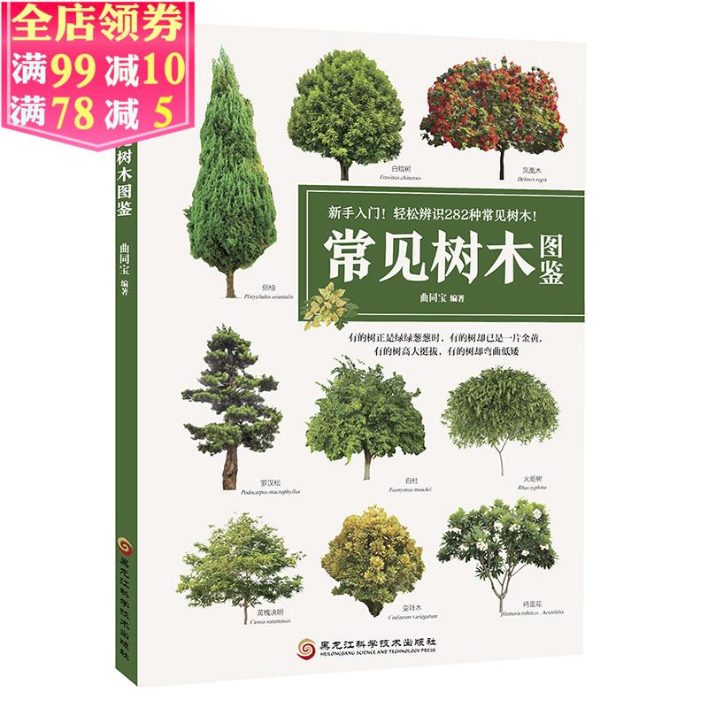 植物图鉴植物书籍植物爱好者工具书柳杉灌木乔木生长点介绍形态介绍常见树木品种选择辨认常见树木指南书籍常见树木图鉴