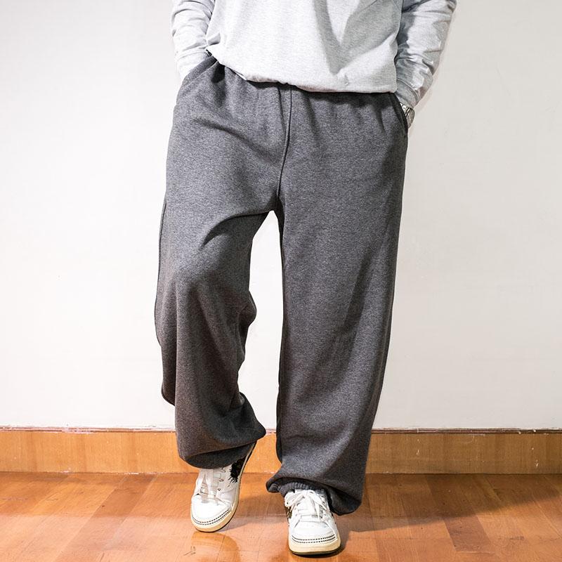 嘻哈街舞胖子男大码束脚卫裤BBOY加肥加大号肥佬宽松运动裤男长裤