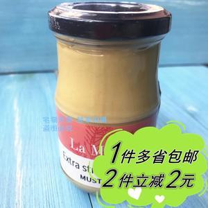 【麦德龙】 LA MARNE 马恩 法国迪戎芥末酱 Dijon Mustard 200g