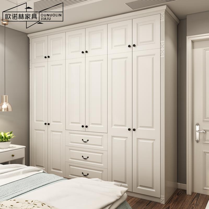 (用212.8元券)欧式开门定制北欧移门卧室组合衣柜